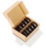 Image of Master Massage Contour Shape Hot Stone Set for Hot Stone Massage (Basalt Rock - 10 pcs)