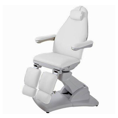 USA Salon & Spa Dia Stationary Massage Bed and PMU Chair (with split legs) - 2245A
