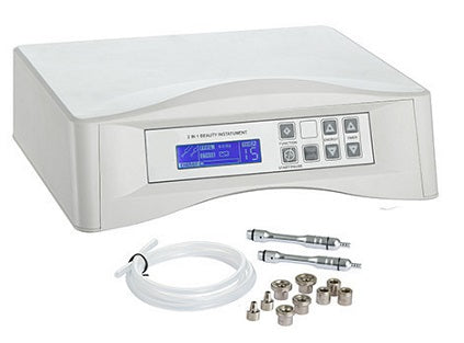 Silver Fox Digital Diamond Professional Microdermabrasion Machine (F-336B)