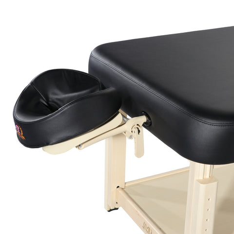 "Master Massage 30"" Harvey Comfort™ Salon Stationary Massage Table"