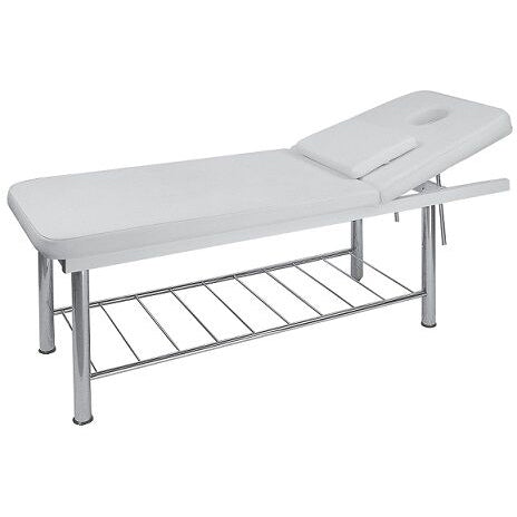 USA Salon & Spa Ingo Stationary Massage Bed, White