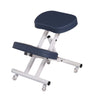 Image of Master Massage Ergonomic Steel Kneeling Chair - Royal Blue