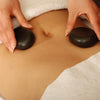 Image of Master Massage Large Flat Ovular Hot Stone Set for Hot Stone Massage (Basalt Rock - 8 pcs) (31140)