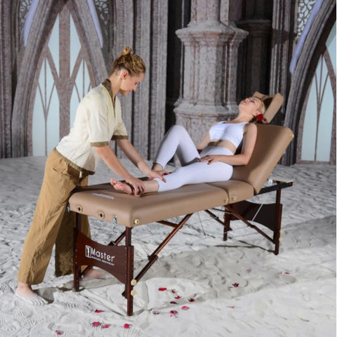 "Master Massage  30"" Deauville Salon Title Portable Massage Table - 56329"