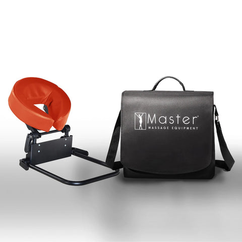 Master Massage Home Mattress Top Massage Kit Adjustable Clip-On Headrest & Face Cushion