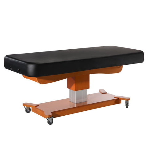 Master Massage® MaxKing Comfort Electrical Massage Table - Beauty Bed Black (D23125)
