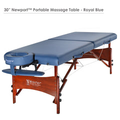 "Master Massage 30"" Newport™ Portable Massage Table"