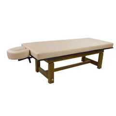 Touch America Solterra Teak Indoor / Outdoor Massage Table (11710)