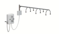 Touch America Stationary Neptune, 8-Head Shower Wet Table (82030)
