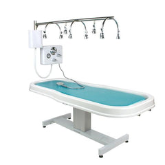 Touch America Battery Neptune Wet Table + 8-Head Vichy Shower Package (Includes 5 Additional Accessories) (82005)