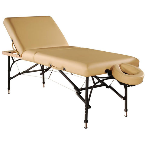 "Master Massage 29"" Violet Tilt Portable Massage Table"
