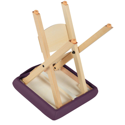 Master Massage Wooden Folding Massage Stool