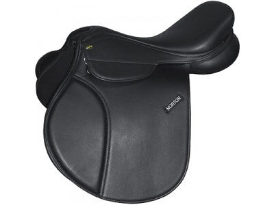 Norton Rexine GP saddle with changeable gullet