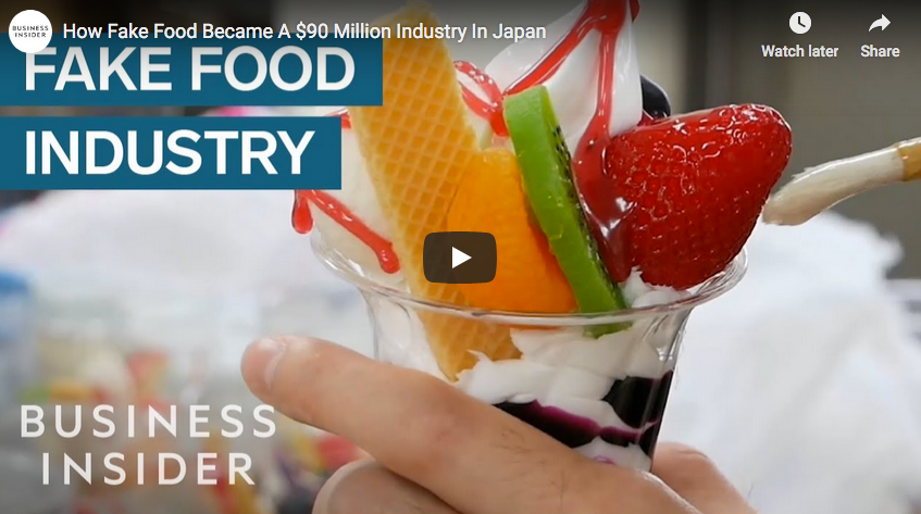 Business Insider - Fake Food Japan
