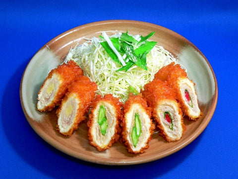 Assorted Deep Fried Pork & Vegetable Rolls Replica