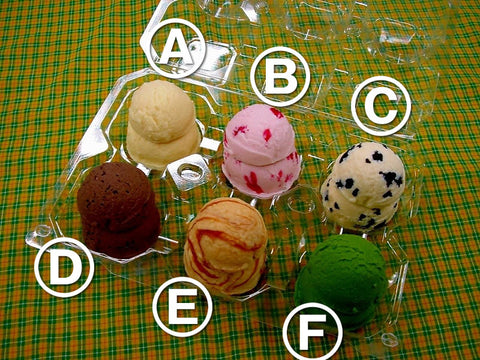 Assorted Ice Cream Replica