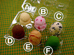 Assorted Ice Cream Replica - Fake Food Japan
