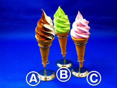Assorted Soft Serve Frozen Custard Ver. 1 Replica - Fake Food Japan