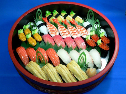 Assorted Sushi for 4 Replica