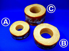 Baumkuchen Layered Cake Replica - Fake Food Japan