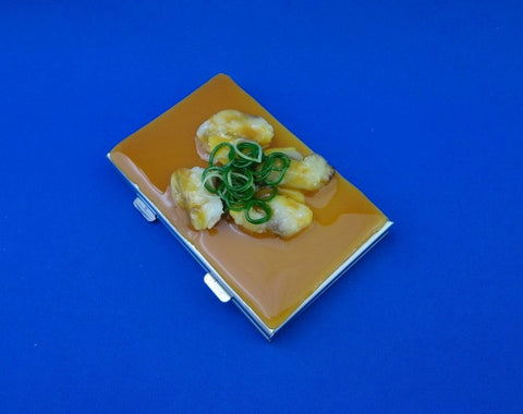 Clam Miso Soup Business Card Case