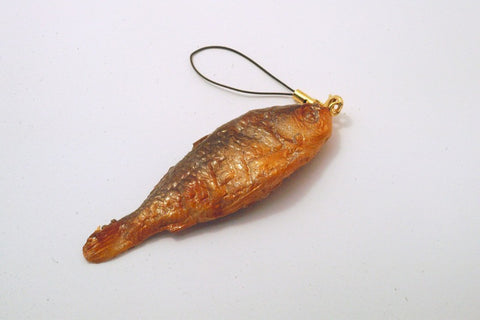 Crucian Carp Cell Phone Charm/Zipper Pull