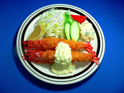 Deep Fried Shrimp with Tartar Sauce Replica