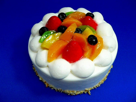 Fruit Topped Cake Replica