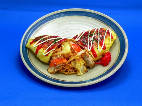 Omelette Stuffed with Fried Soba Noodles Replica