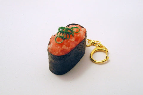 Scallion & Tuna Battleship Roll Sushi Keychain