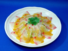 Sliced Red Pacific Sea Bream Replica - Fake Food Japan