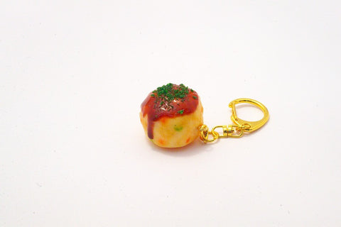 Takoyaki (Fried Octopus Ball) (small) Keychain