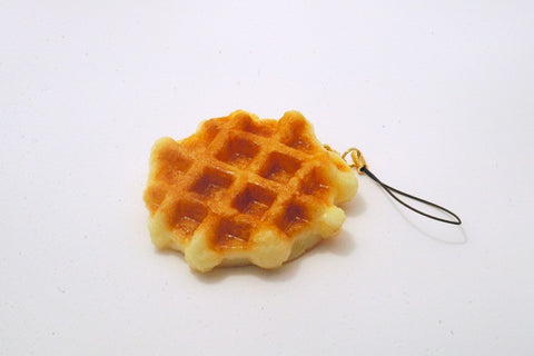 Waffle Cell Phone Charm/Zipper Pull