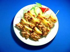 Yakitori (Grilled Chicken on Skewers) Replica - Fake Food Japan