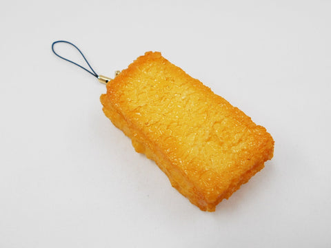 Age-dashi (Fried) Tofu Cell Phone Charm/Zipper Pull