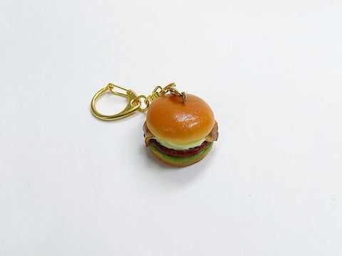 Bacon & Teriyaki Sauce Burger Keychain