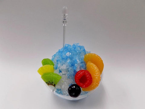 Blue Hawaii Kakigori (Snow Cone/Shaved Ice) Small Size Replica