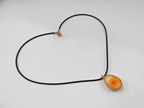 Boiled Quail Egg in Soy Sauce Necklace