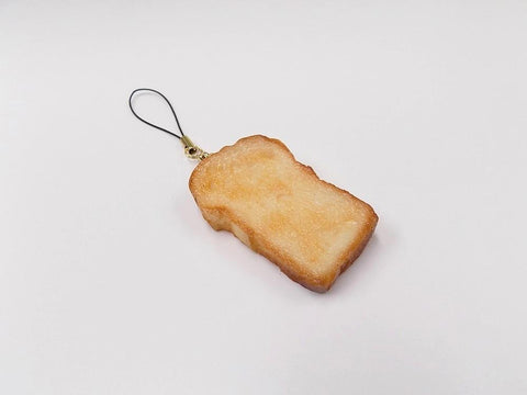 Bread Slice (large) Cell Phone Charm/Zipper Pull