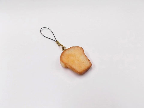 Bread Slice (small) Cell Phone Charm/Zipper Pull