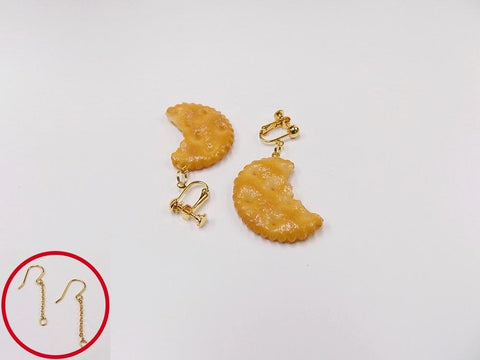 Broken Cracker Ver. 2 Pierced Earrings