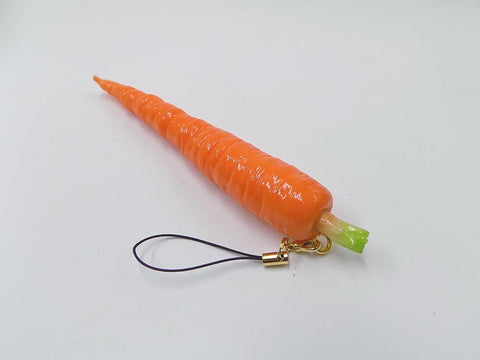 Carrot (small) Cell Phone Charm/Zipper Pull