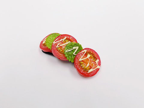Cherry Tomato Slice with Mayonnaise (large) Hair Clip