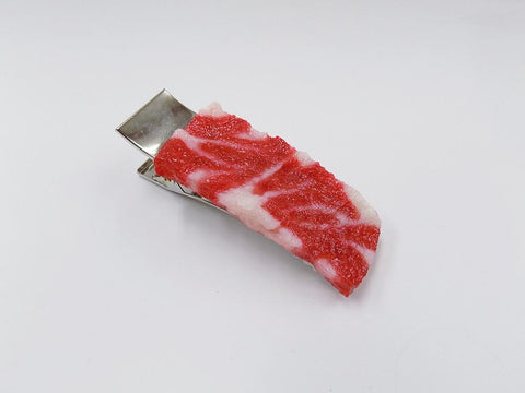 Chuck Steak (large) Hair Clip