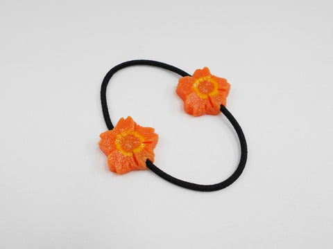 Flower-Shaped Carrot Ver. 1 (mini) Hair Band (Pair Set)
