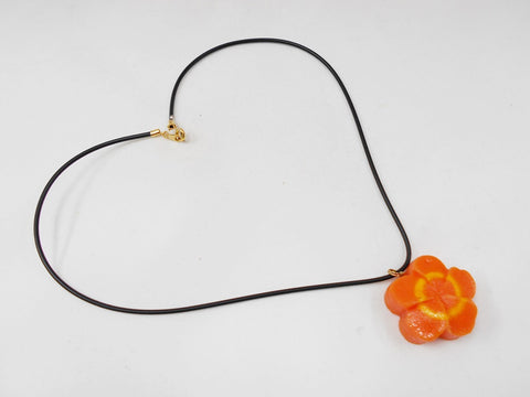 Flower-Shaped Carrot Ver. 2 Necklace