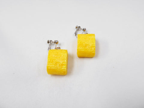 Fried Egg (mini) Clip-On Earrings