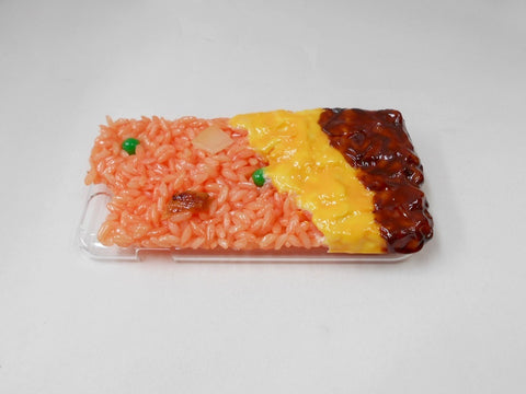 Fried Rice Omelette with Demi-Glace Sauce (new) iPhone 7 Case