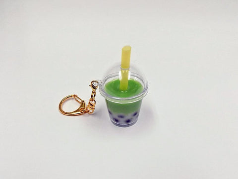 Green Tea (Matcha) Tapioca Drink (mini) Keychain
