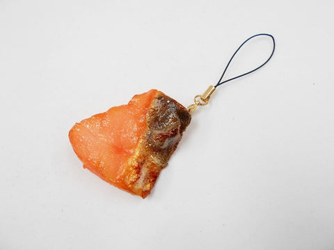 Grilled Salmon (small) Cell Phone Charm/Zipper Pull